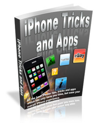 Product picture IPhone Tricks and Apps - With Master Resell Right
