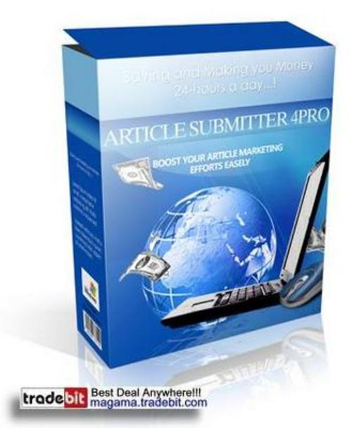 Product picture Article Submitter 4Pro