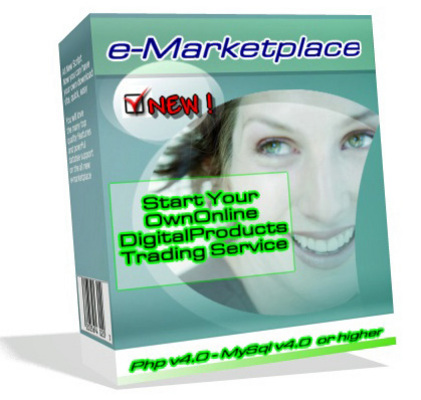 Product picture e-MarketPlace - Your Online Digital Products